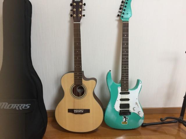 エレキギターと比較