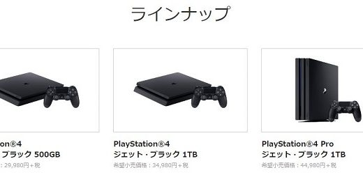 PS4購入を迷う人のために即決ポイントをまとめてみたよ