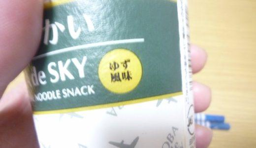 「そばですかい」というJALの機内食を見つけたので食べてみた!
